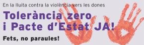 Tolerància zero violència masclista